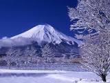 冬 富士山