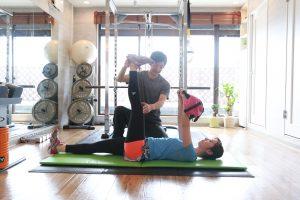 ダイエットトレーニングレッグローワリング