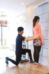 姿勢分析からトレーニング
